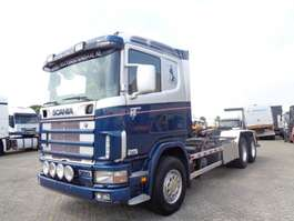 containersysteem vrachtwagen Scania 114G 380 + Manual + Chain system + PTO 2000