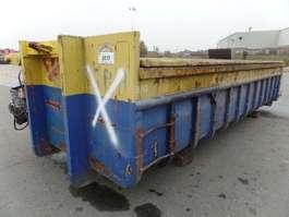 open top zeecontainer VERNOOY CONTAINER 8117 GEBRUIKT MET DEKSEL