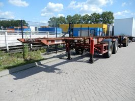 container chassis oplegger Craven tasker 20 FT chassis / steel suspension / ROR 1992