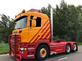 standaard trekker Scania Scania R500 6x2 Low km Airco  SPECIAL 2013