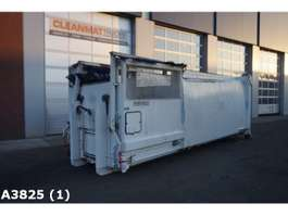 open top zeecontainer Kiggen 26m3 perscontainer 2008