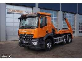 containersysteem vrachtwagen Mercedes Benz AROCS 2540 6x2 2018