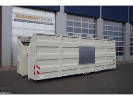 open top zeecontainer Glass collection container 35m3 2010