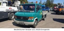 open laadbak bedrijfswagen Mercedes Benz DB 612, DOKA Pritsche, Atlas Kran 810 T