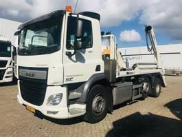 containersysteem vrachtwagen DAF CF 400 FAG 6x2 met portaalarm 2017