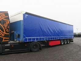 huifzeil aanhanger Schmitz Cargobull SCS 24 Curtainsider Palettenkasten Liftachse 2015