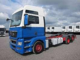 chassis cabine vrachtwagen MAN 26.440 FLLC 6X2/4 TGX XXL Intarder Euro 5 EEV 2010