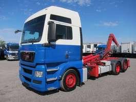 containersysteem vrachtwagen MAN 26.440 FLLC TGX XXL Euro 5 EEV Lenkachse 2010