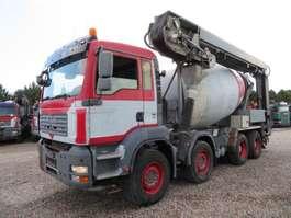 betonmixer vrachtwagen MAN TGA 35.400 8x4 Stetter 9 m3 Theam 14+4 m. 2020
