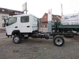 chassis cabine vrachtwagen FUSO Canter 6 C 18 D - 4x4 2020