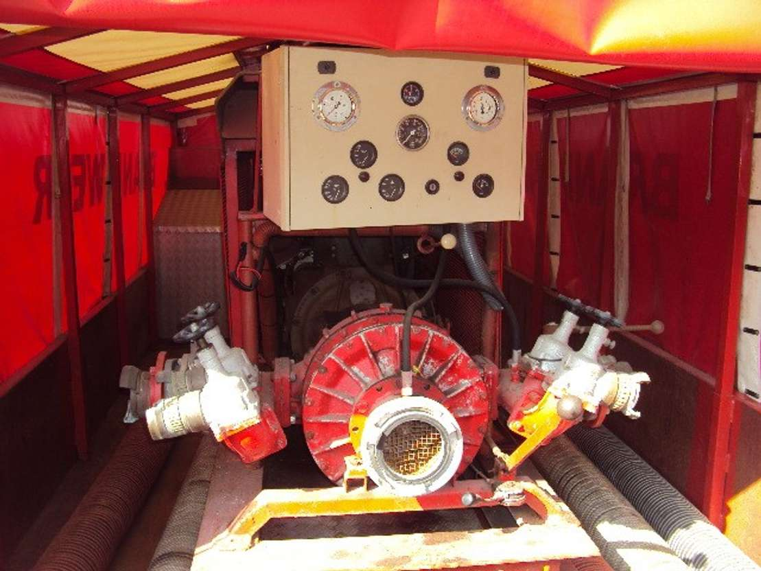 waterpomp machine WATERPOMP ZIEGLER 2000