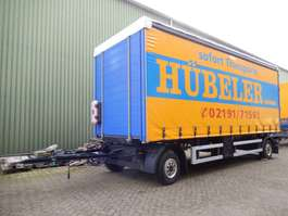 schuifzeil aanhanger Altenburger-Haertel NPSA21  2 As Vrachtwagen Aanhangwagen Schuifzeil, 72... 2000