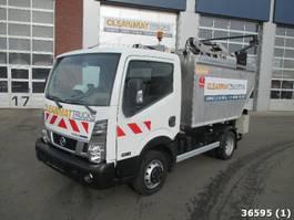 vuilniswagen vrachtwagen Nissan NT400 Cabstar VDK 5m3 Rijbewijs B 2016