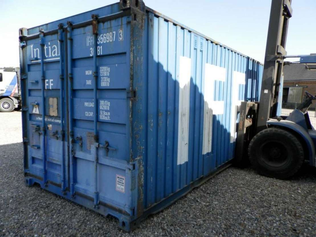 overige containers nvt 30 ft zeecontainer