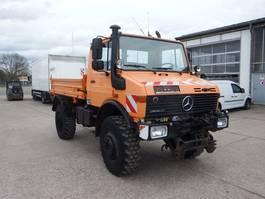 kipper vrachtwagen > 7.5 t Unimog U 1650 427/21 - AHK SFZ 1995