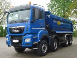 open laadbak vrachtwagen MAN TGS 35.460 8x6 Euro 6 Muldenkipper MEILLER 2019