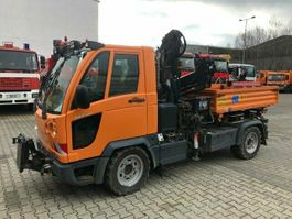 hoogwerker bedrijfswagen Multicar FUMO M30 4x4 Kipper Kran Greifer Winterdienst 2007