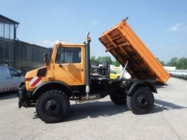 kipper vrachtwagen > 7.5 t Unimog U 1650 427/21 KIPPER - AHK SFZ 1995