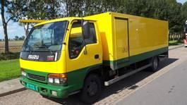 verkoop opbouw vrachtwagen Isuzu verkoop/markt wagen 2001
