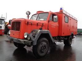 brandweerwagen vrachtwagen Magirus Deutz 125 D 16 4X4 1966