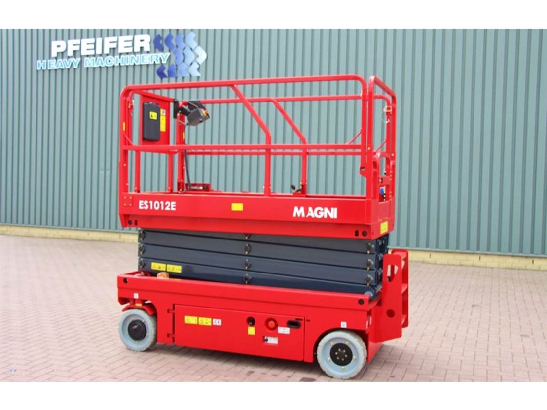schaarhoogwerker wiel Magni ES1012E Electric, 4x2 Drive, 10m Working Height, 4 2019