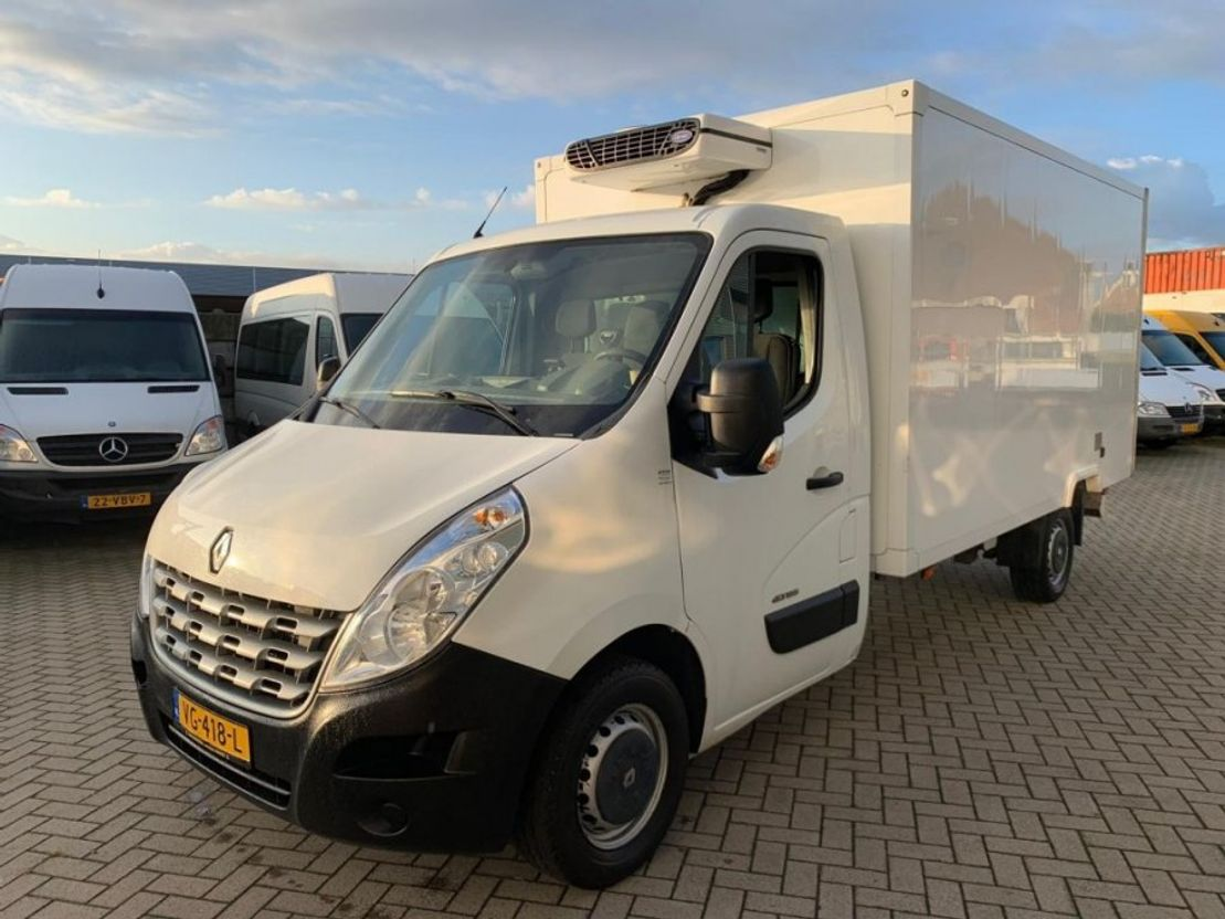 koelwagen bestelwagen Renault master koelwagen 2013
