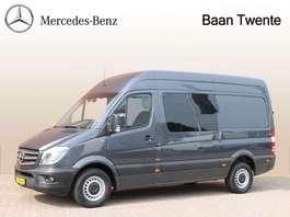 gesloten bestelwagen Mercedes Benz Sprinter 319 3.0 CDI L2 H2 Dubbel Cabine, 3.500kg, Trekhaak | Certified ... 2016