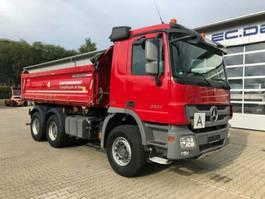 kipper vrachtwagen > 7.5 t Mercedes Benz Actros 2644 K 6x4 Euro 5 Kipper Federbordmatic