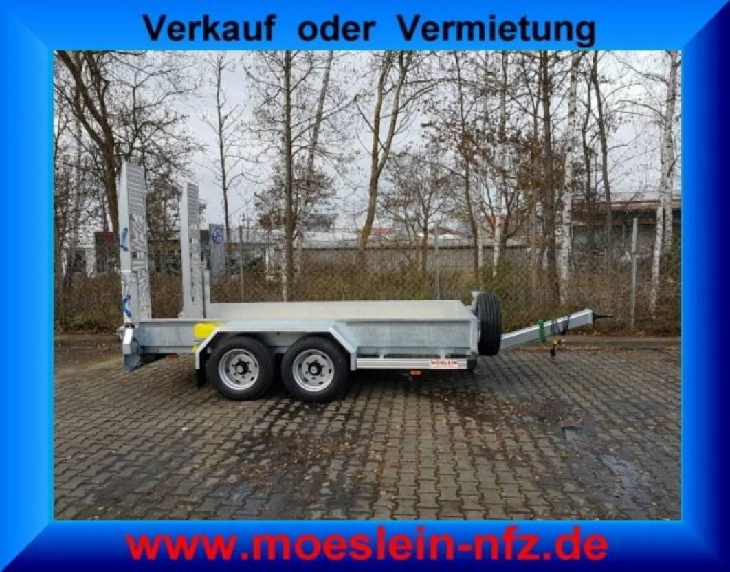 dieplader oplegger Möslein TT 6-E4x2  5 t bis 6,5 t GG Tandemtieflader,Feuerverzinkt 2021