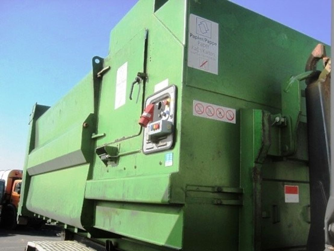 overige vrachtwagens Diversen Kiggen PD 731 20 cbm Selbstpressbehälter 2001