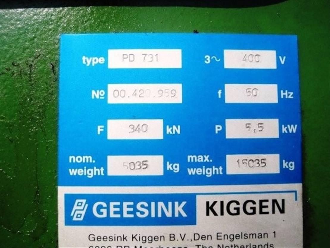 overige vrachtwagens DIV. Kiggen PD 731 20 cbm Selbstpressbehälter 2001