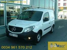 gesloten bestelwagen Mercedes Benz CITAN 108 CDI 2015