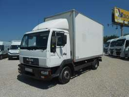 bakwagen vrachtwagen MAN 8155 LC 2005