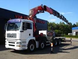 kraanwagen MAN TGA 41.480 8x4 - CRANE FASSI 1100 AXP 28 + JIB 2005