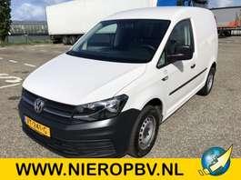 gesloten bestelwagen Volkswagen caddy airco navi 2016