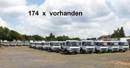 chassis cabine vrachtwagen Mercedes Benz Atego 818 L   4x2 Atego 818 L 4x2, 174x VORHANDEN! 2019