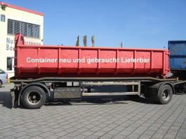 container chassis aanhanger HAR 1870 1997