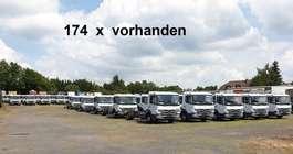 chassis cabine vrachtwagen Mercedes Benz Atego 818 L   4x2 Atego 818 L 4x2, 174 x VORHANDEN! 2019