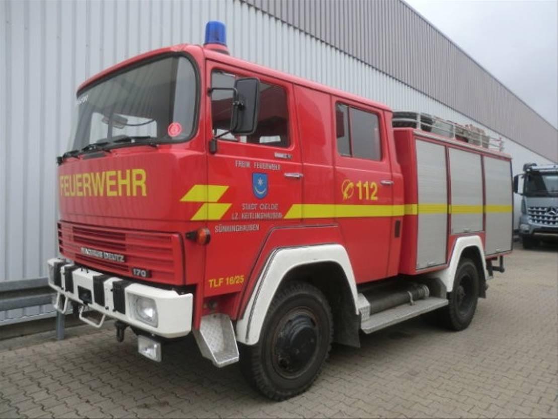 ambulance bedrijfswagen DIV. M 170 D 11 FA 4x4 MAGIRUS DEUTZ M170D 11FA 4x4, Feuerwehr 1976