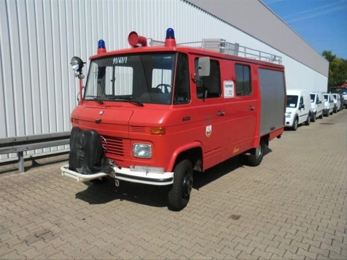 ambulance bedrijfswagen Mercedes Benz LF 409   4x2 LF 409 4x2 Löschwagen, Benziner! 1980