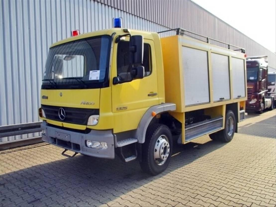ambulance bedrijfswagen Mercedes Benz Atego 1325 AF 4x4 Workshop truck Atego 1325 AF 4x4 Workshop truck
