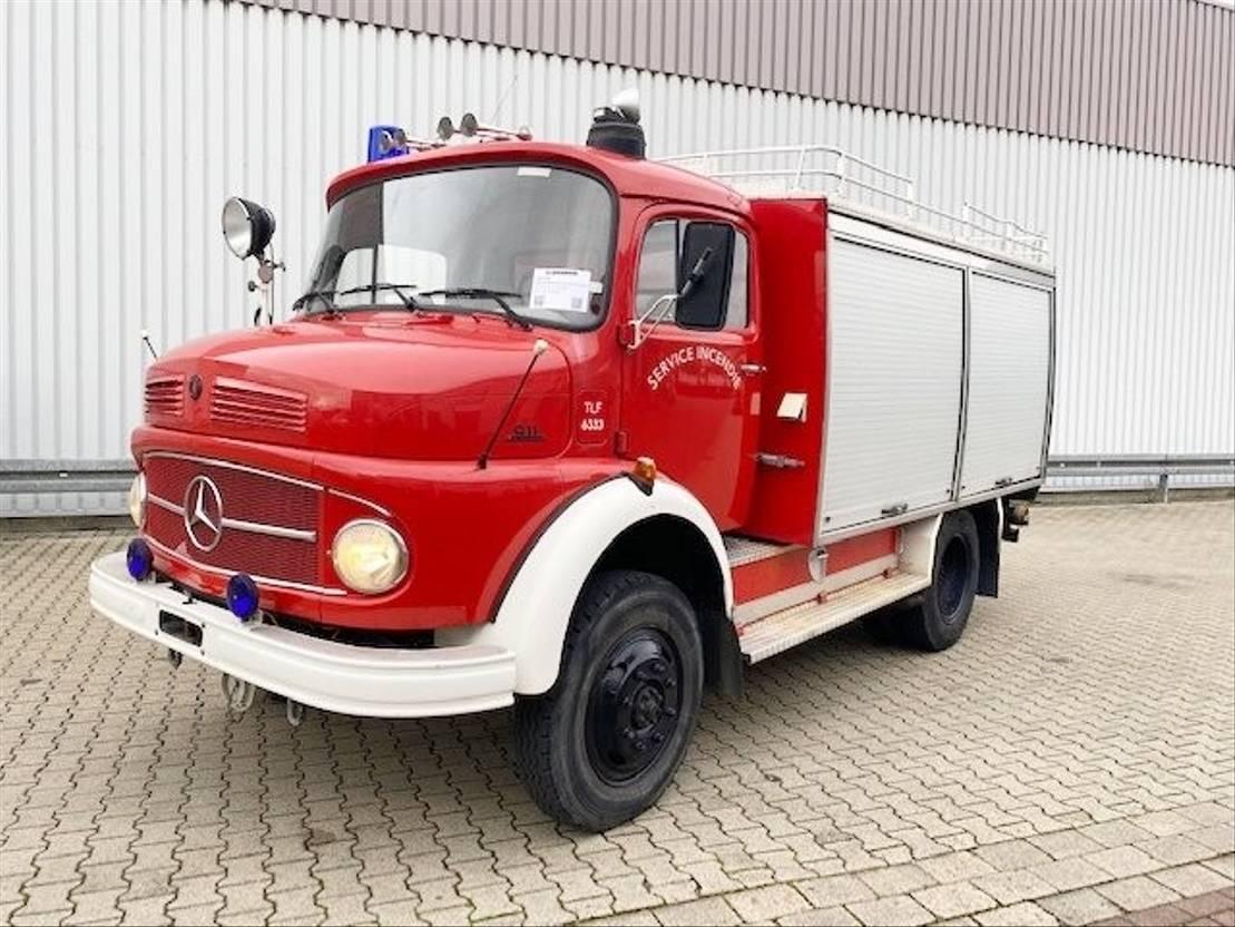ambulance bedrijfswagen Mercedes Benz LAF 911 4x4 Feuerwehr LAF 911 4x4 Feuerwehr 1980