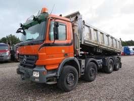 kipper vrachtwagen Mercedes Benz Actros 3246 8x4 Meiler Pendel / FULL STEEL 2020