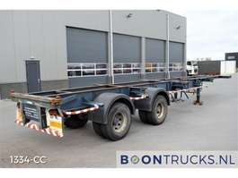 containersysteem oplegger Netam H-F2W-40-3-CL.1 *STEEL SUSPENSION* 20-40ft 1978