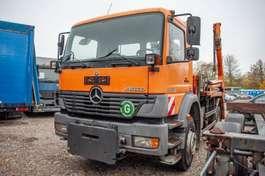kipper vrachtwagen Mercedes Benz Atego 1823K Absetzer Meiller AK12 2002