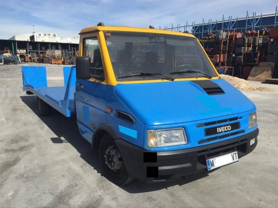 takelwagen bedrijfswagen Iveco Daily 1998