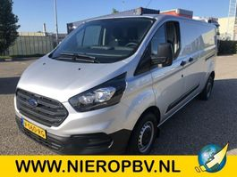 gesloten bestelwagen Ford transit custom nieuw airco lengte 2 dub schuifdeur 2019