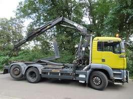 containersysteem vrachtwagen MAN TGA 26.360 6x4H-2 BL + HIAB 144 Hipro 2012 2007