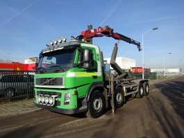 containersysteem vrachtwagen Volvo FM 12 420 8 X 4 !! HAAK + HMF CRANE !! 2002