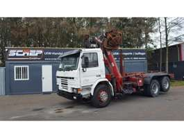 containersysteem vrachtwagen Scania 93-280 - 6x2 - Penz Crane + Multilift 1994